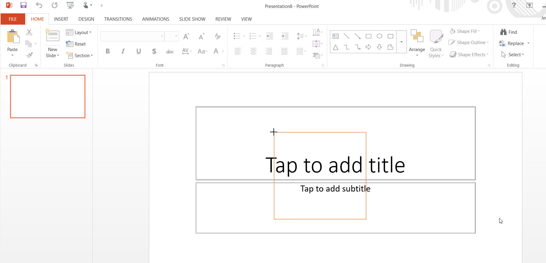 screenshopt of powerpoint instance added to the chart
